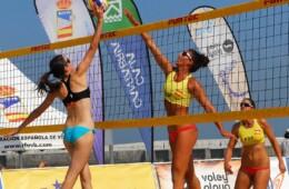 Fotos voley Tenerife deportes de playa