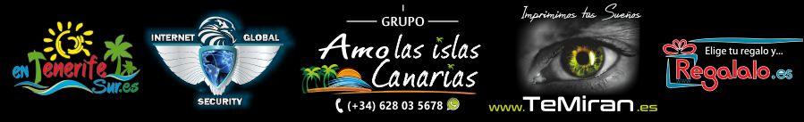 LOGOS GRUPO AMO LAS ISLAS CANARIAS TENERIFE