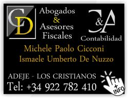 abogado Michele Paolo Cicconi ismaele Umberto De Nuzzoi adeje arona abogados italiano
