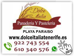 cafeteria pasteleria dolce italia en playa paraiso adeje tenerife sur islas canarias