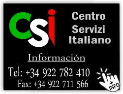 centro servizi italiano csi los cristianos arona tenerife servicios a italianos