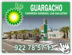 gasolinera BP en guargacho las galletas tenerife sur islas canarias gasolina economica