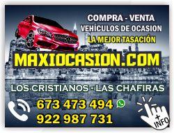 maxiocasion coches vehiculos de ocasion en arona las chafiras tenerife sur los cristianos