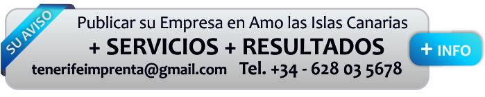 publicidad en el portal de tenerife amo las islas canarias arona