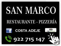 restaurante san marco costa adeje restaurante pizzeria