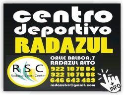 centro deportivo radazul deportes radazul alto deportes en tenerife santa cruz de tenerife islas canarias
