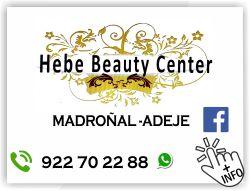 hebe beauty center peluqueria estetica adeje el madroñal tenerife sur