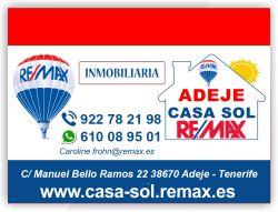 inmobiliaria remax casa sol remax adeje tenerife sur islas canarias apartamentos pisos