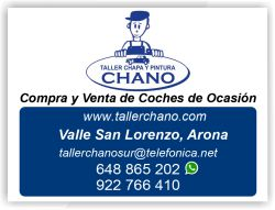 taller chano valle san lorenzo compra venta coches de ocasion tenerife sur islas canarias taller chano buzanada