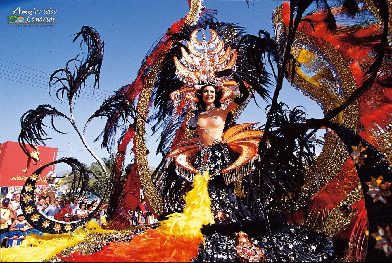 carrozas carnaval de santa cruz de tenerife carnavales 2016 2017 2015 islas canarias desfile