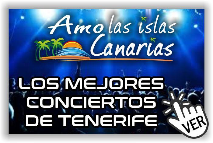 conciertos en Tenerife sur norte Islas Canarias Adeje Arona