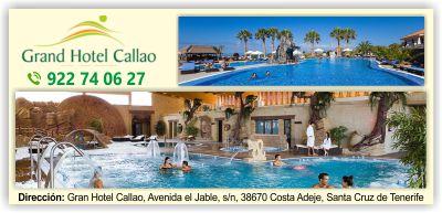 hotel Grand hotel Callao sport Adeje Tenerife sur islas canarias