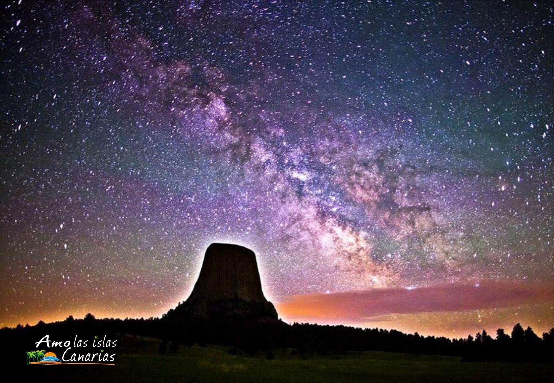 via lactea teide tenerife islas canarias ver via lactea estrellas del teide mirar estrellas