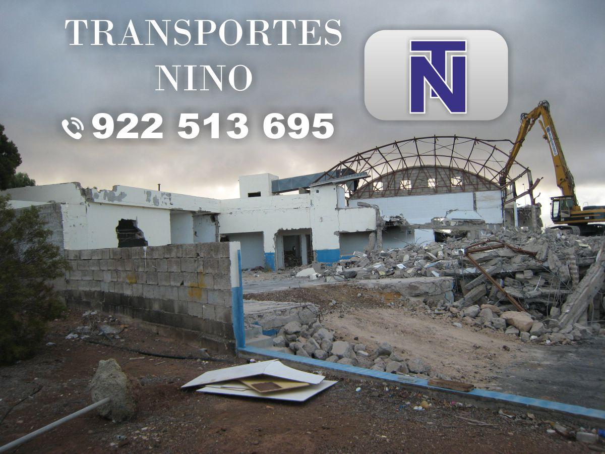 Demoliciones en tenerife guimar islas canarias adeje arona for Empresas de transporte en tenerife