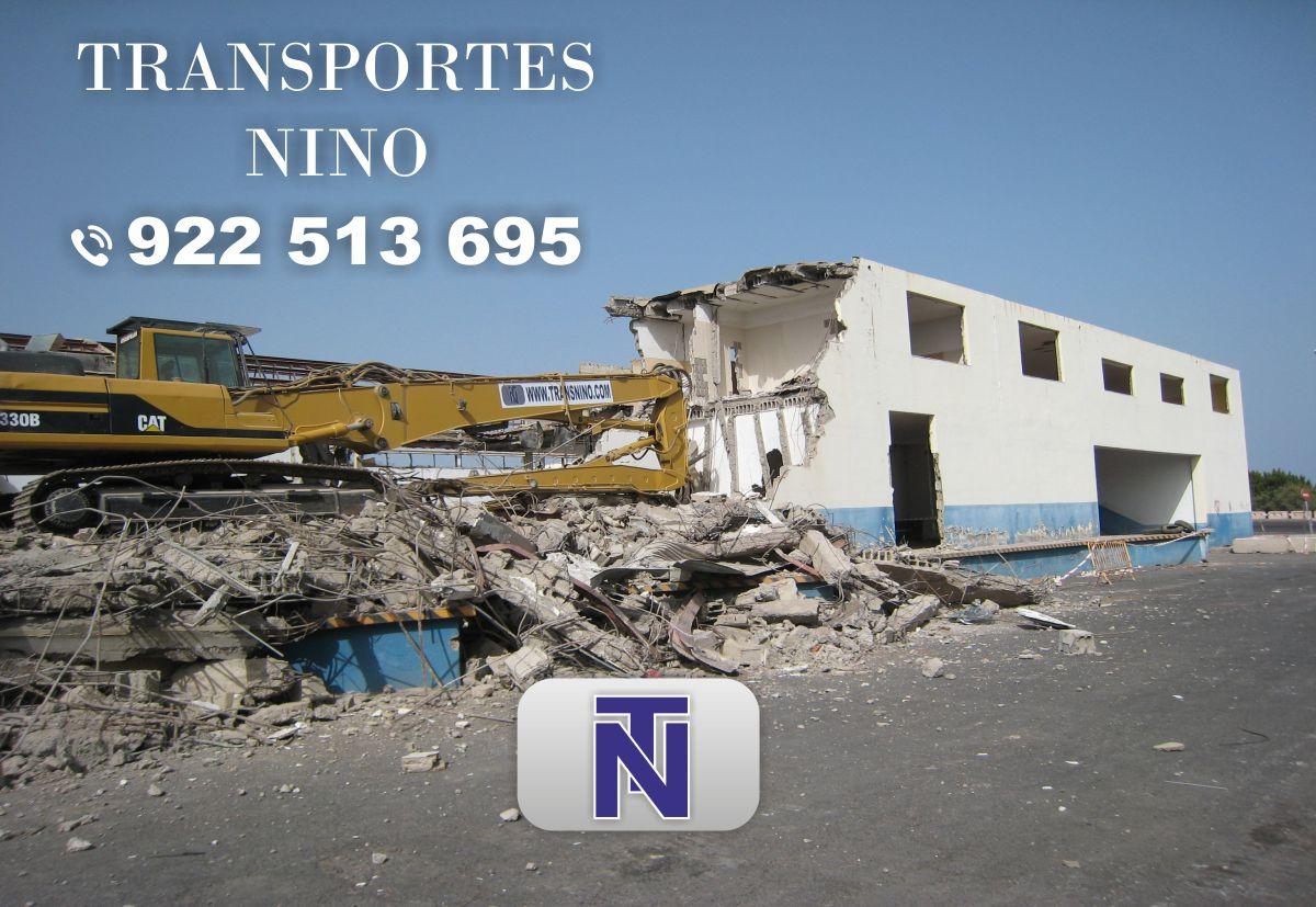 Empresa de demoliciones en tenerife guimar islas canarias for Empresas de transporte en tenerife