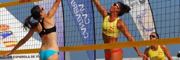 Fotos voley Tenerife deportes de playa