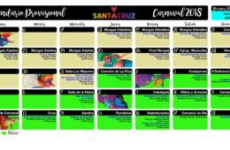 calendario provisional de los carnavales de santa cruz de tenerife 2018 enero febrero islas canarias