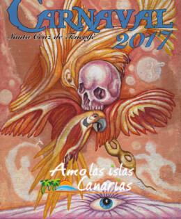 carnavaL 2017 cartel de los carnavales en santa cruz de tenerife islas canarias