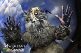 carnaval de los carneros en tigaday en la frontera fiestas tipicas tradicionales en el hierro islas canarias españa imagenes