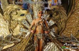 carnaval de tenerife trajes de las representantes del carnaval aspiranres a reina amo las islas canarias españa