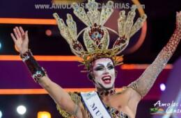 fotos de la gala drag queen carnavales en las palmas ganador del certamen en las islas canarias españa