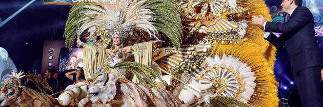 fotos de las aspirantes a reina de los carnavales de tenerife islas canarias españa trajes