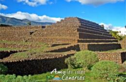 Fotos de las piramides de Guimar en Tenerife Islas Canarias