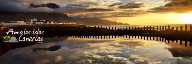 fotos de las salinas de agaete en gran canaria imagenes de puesta de sol en las islas canarias