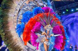 fotos de los mejores trajes de las candidatas a reina en los carnavales en santa cruz de tenerife españa