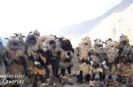 fotos del carnaval de los carneros en tigaday en la frontera fiestas tipicas tradicionales en el hierro imagenes islas canarias españa