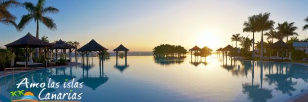 hotel gran melia palacio de isora en tenerife fotografias de los mejores hoteles con grandes piscinas en islas canarias españa turismo