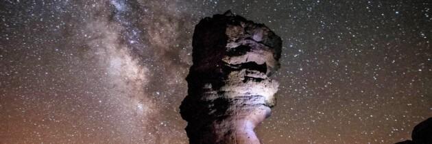 mirar las estrellas desde el volcan el teide arriba del teide cima del teide  ver las estrellas desde el teide tenerife islas canarias