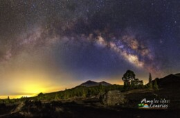 mirar las estrellas teide tenerife via lactea fotos islas canarias ver fotos via lactea estrellas del teide mirar estrellas