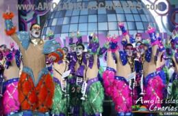 murga los mamelucos en el carnaval de santa cruz de tenerife islas canarias españa fotos de los carnavales