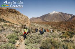 senderismo excursiones en tenerife turismo fotos de lugares para visitar el teide montaña deportes conocer las islas canarias españa