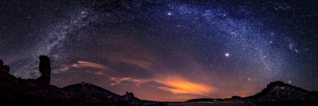 via lactea desde el teide estrellas vistas del teide volcan el teide tenerife islas canarias estrellada mirar las estrellas del teide