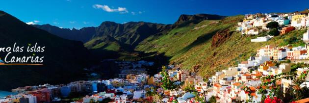vistas panoramicas de la isla de la gomera lugares de interes para el turista islas canarias