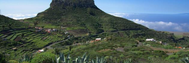 vistas panoramicas del parque de garajonai imagenes de los lugares para visitar en la gomera islas canarias